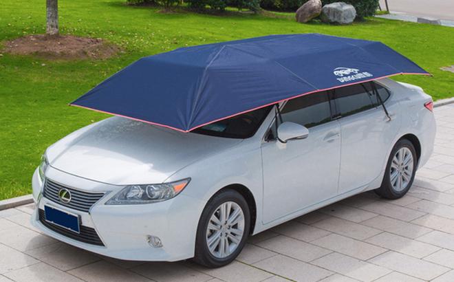 Trời nắng nóng, làm sao để giảm nhiệt cho ô tô khi đỗ ngoài trời?