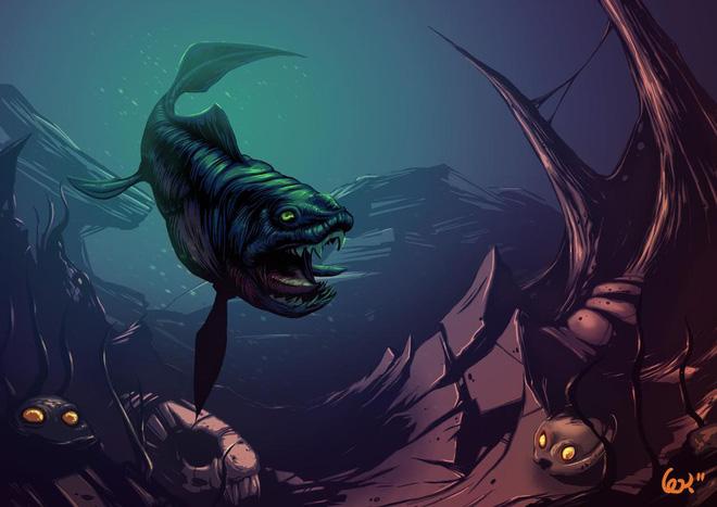 Giải mã quái vật biển sở hữu cặp hàm siêu mạnh: Cắn đôi cá mập khổng lồ chỉ trong 1/50 giây - Ảnh 3.