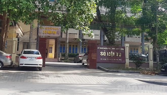 Công an tỉnh thông tin vụ bắt quả tang Trưởng phòng Sở Nội vụ Thanh Hoá - Ảnh 1.