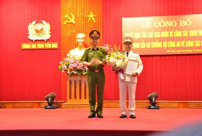 Hai tân Giám đốc Công an tỉnh Yên Bái, Quảng Ninh, một Cục trưởng được trao bổ nhiệm trong ngày 1/6 - Ảnh 4.