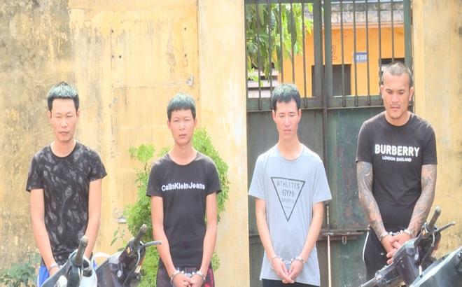 Thủ đoạn thực hiện 66 vụ trộm xe máy của 4 gã trai nghiện ma túy ở Bắc Ninh