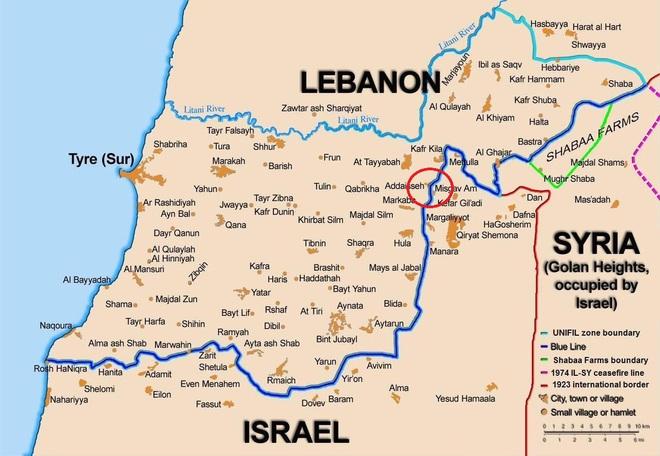 Đặc nhiệm, xe tăng Merkava của Israel vượt tuyến xanh, lính Lebanon giương tên lửa sẵn sàng nhả đạn - Tình thế cực kỳ căng thẳng - Ảnh 1.