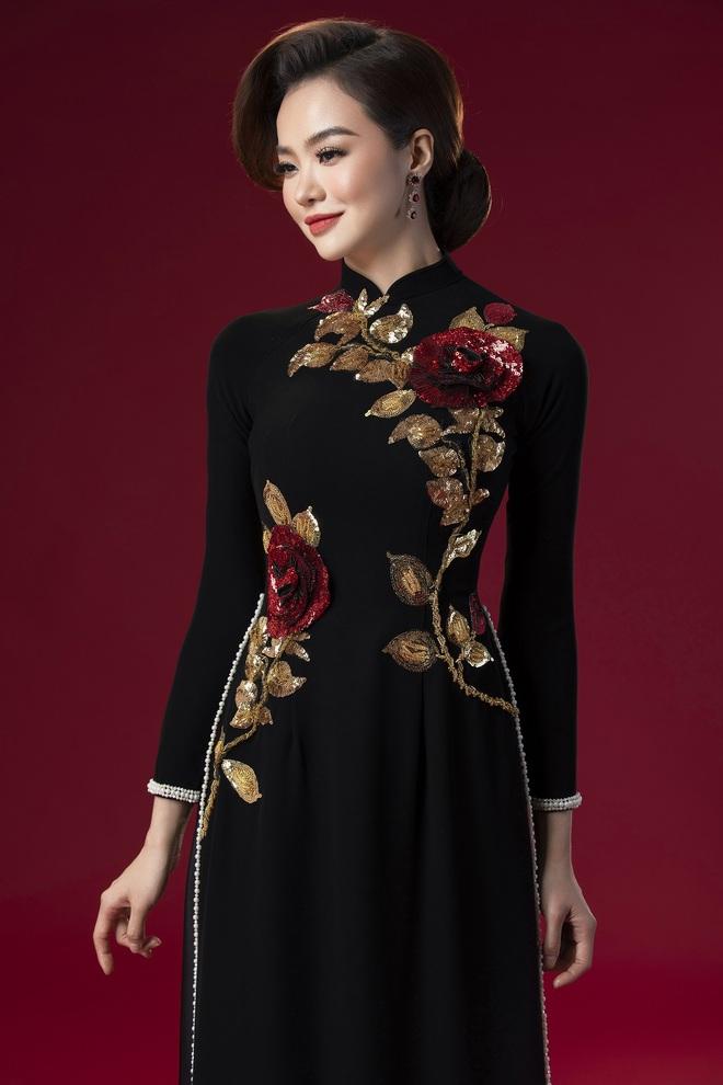 Hoa hậu Kiều Ngân làm nàng thơ cho NTK Minh Châu - Ảnh 7.