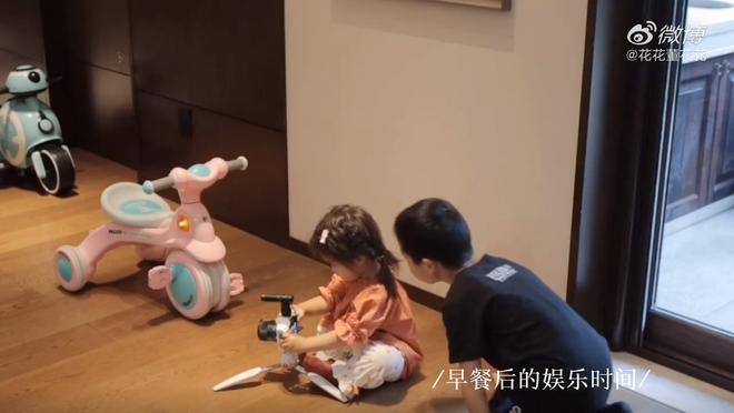 Vợ chủ tịch Taobao lần đầu tiên đưa cả 2 con vào vlog riêng và liên tục khoe nhẫn ở ngón áp út ẩn ý tình trạng của vợ chồng - Ảnh 4.