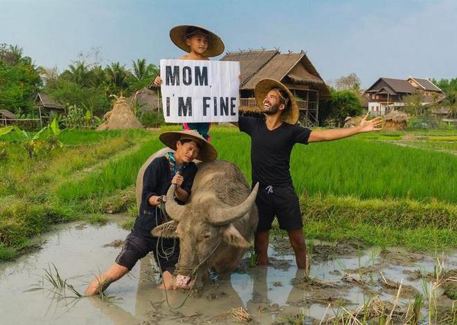Du lịch vòng quanh thế giới, anh chàng này vẫn đều đặn gửi ảnh về cho mẹ yên tâm - Ảnh 10.