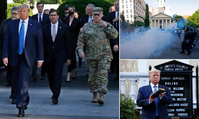 Hé lộ súng bắn tỉa khủng bảo vệ Tổng thống Trump giữa vòng vây của người biểu tình - Ảnh 1.