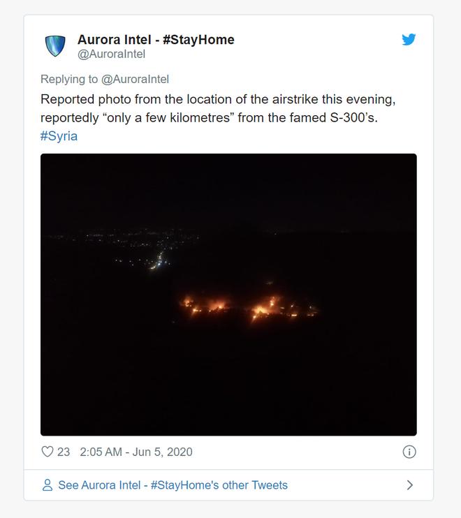 Israel tấn công cơ sở quân sự nhạy cảm nằm cách S-300 chỉ vài km - LNA tháo chạy, dâng trọn Pantsir-S1 vào tay phe Thổ - Ảnh 2.