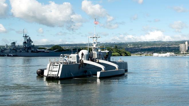 """Dự án """"đoàn tàu biển"""" không người lái đầy tham vọng của Mỹ - Ảnh 2."""