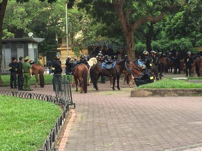 Lực lượng Cảnh sát cơ động kỵ binh sẽ diễu hành, báo cáo kết quả trước đại biểu Quốc hội - Ảnh 3.