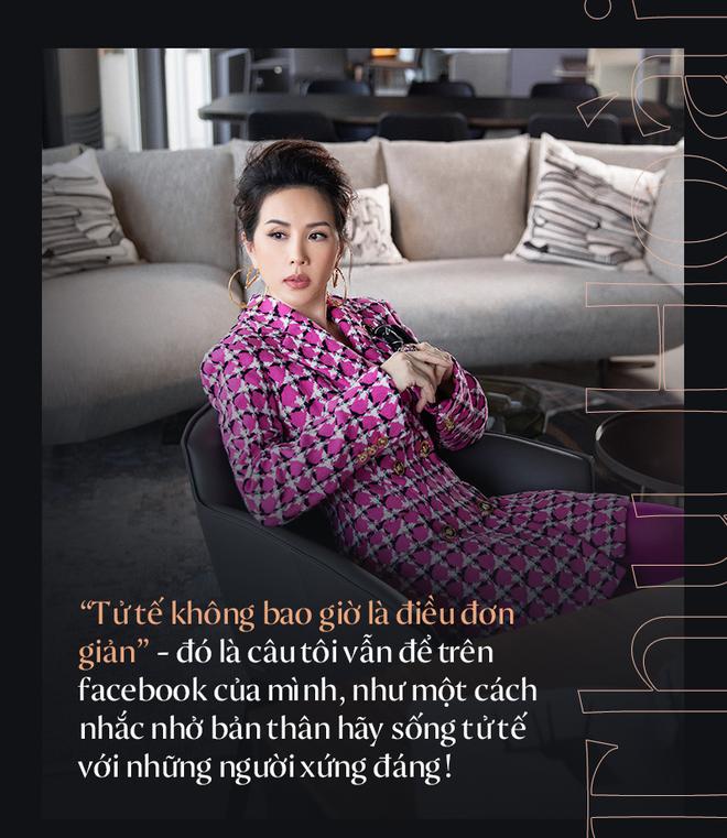 """Hoa hậu Thu Hoài: """"Đã có lúc, tôi chỉ có thể ngồi xem phim và để mất 4-5 tỷ đồng/ tháng"""" - Ảnh 6."""