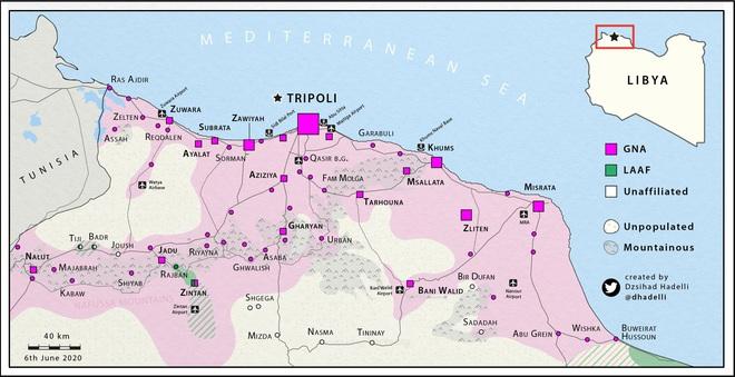 KQ Nga quần đảo trên bầu trời, pháo binh Syria hủy điệt dưới đất ở Idlib - Khinh hạm Thổ rẽ sóng đến giải vây GNA ở Libya - Ảnh 3.