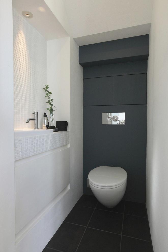 Các ý tưởng tuyệt vời dành cho bạn để truyền nguồn cảm hứng thiết kế cho một không gian nhà vệ sinh chỉ 3m² - Ảnh 1.