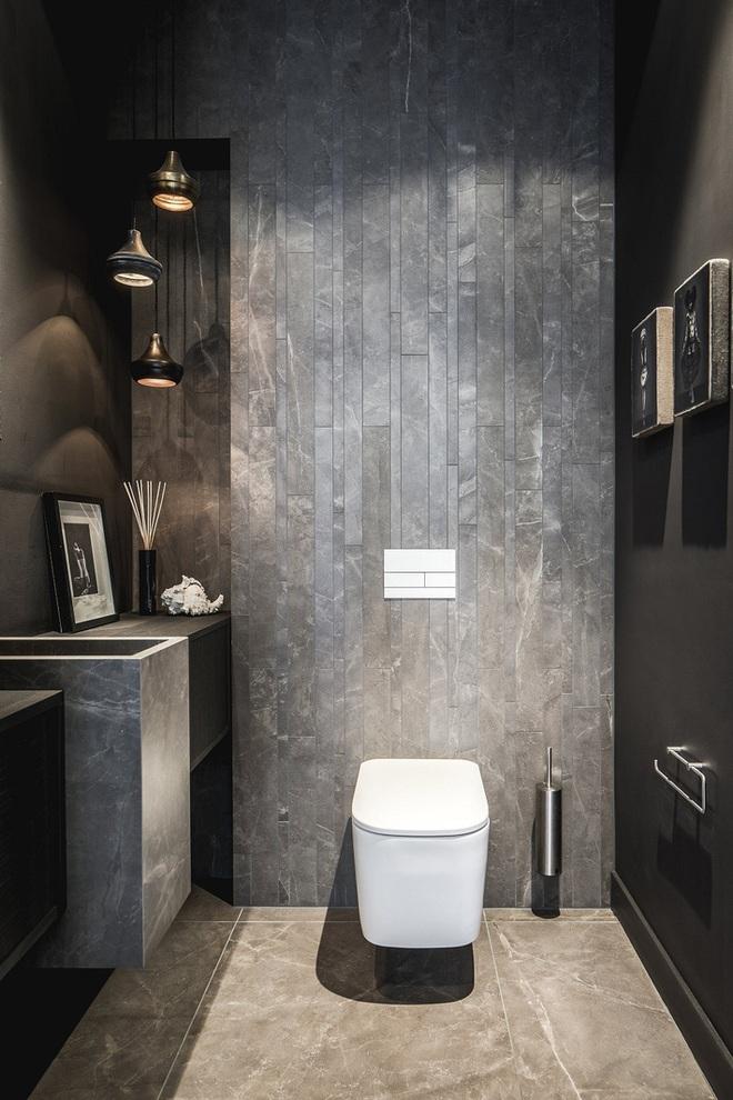 Các ý tưởng tuyệt vời dành cho bạn để truyền nguồn cảm hứng thiết kế cho một không gian nhà vệ sinh chỉ 3m² - Ảnh 11.