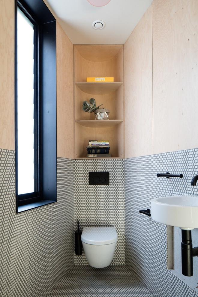 Các ý tưởng tuyệt vời dành cho bạn để truyền nguồn cảm hứng thiết kế cho một không gian nhà vệ sinh chỉ 3m² - Ảnh 3.