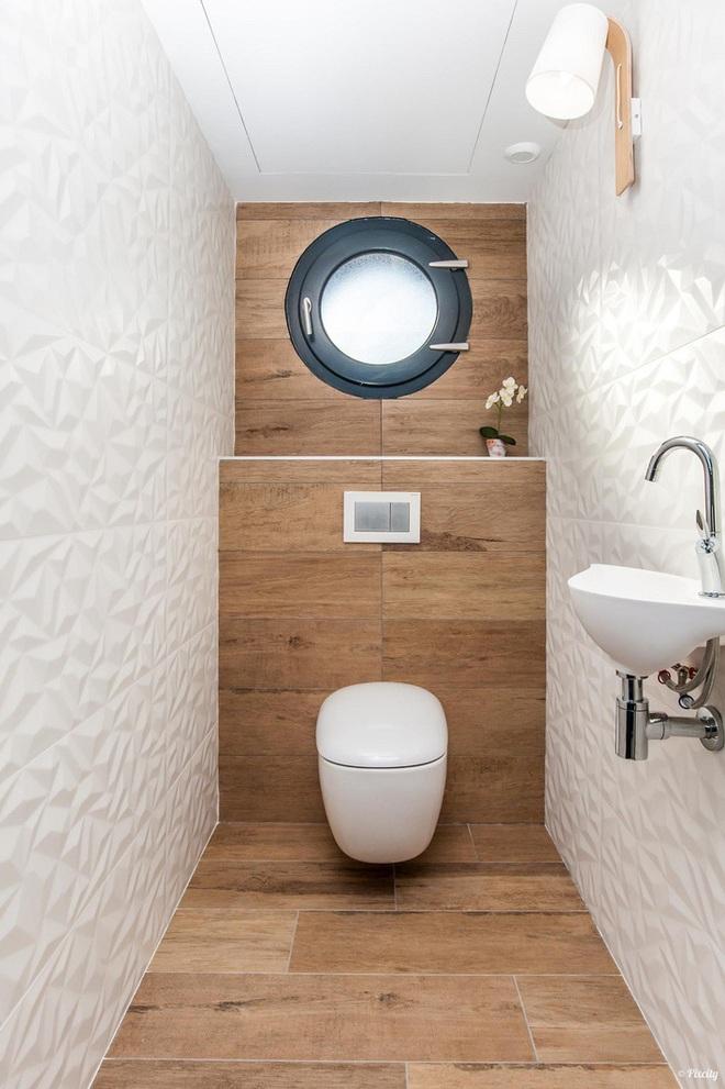 Các ý tưởng tuyệt vời dành cho bạn để truyền nguồn cảm hứng thiết kế cho một không gian nhà vệ sinh chỉ 3m² - Ảnh 5.