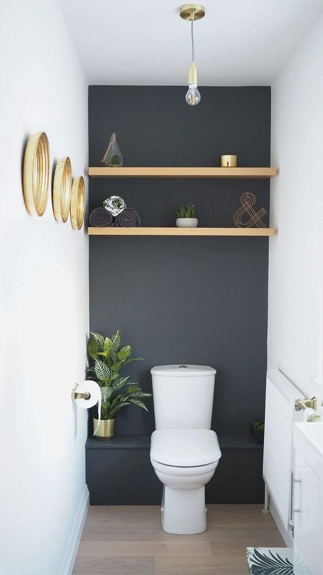 Các ý tưởng tuyệt vời dành cho bạn để truyền nguồn cảm hứng thiết kế cho một không gian nhà vệ sinh chỉ 3m² - Ảnh 8.