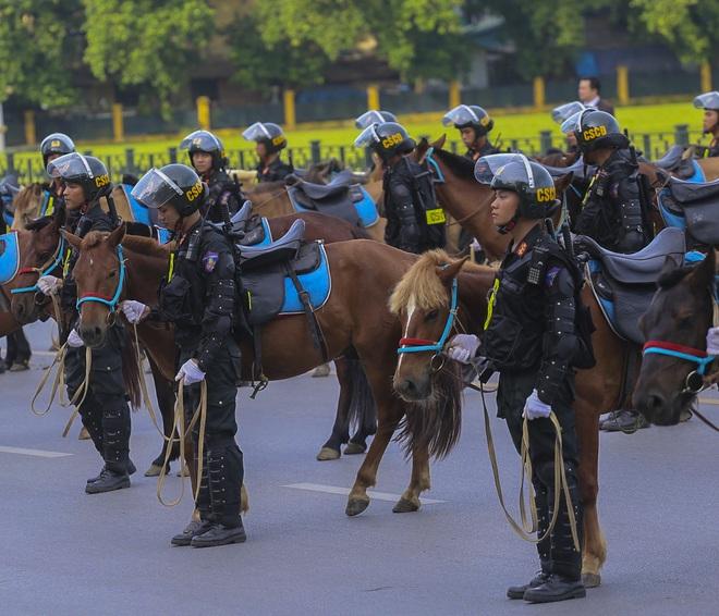 [Ảnh] Ấn tượng hình ảnh lực lượng Cảnh sát cơ động Kỵ binh trong lễ ra mắt - Ảnh 4.