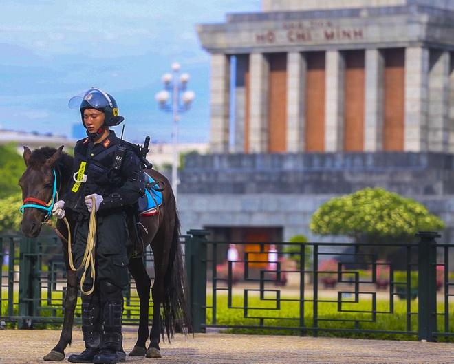 [Ảnh] Ấn tượng hình ảnh lực lượng Cảnh sát cơ động Kỵ binh trong lễ ra mắt - Ảnh 6.