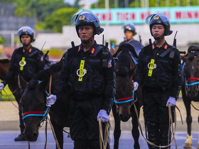 [Ảnh] Ấn tượng hình ảnh lực lượng Cảnh sát cơ động Kỵ binh trong lễ ra mắt - Ảnh 7.