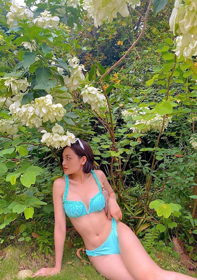 Nữ diễn viên đóng cảnh nóng năm 18 tuổi khoe vóc dáng gợi cảm với bikini - Ảnh 2.