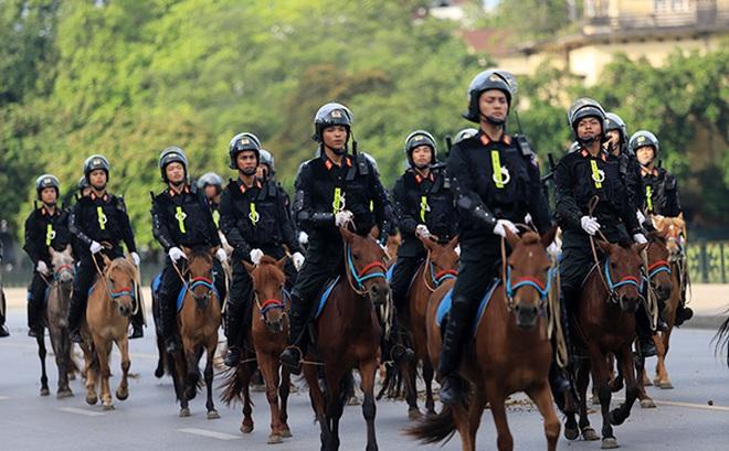 Đại tướng Tô Lâm: Cảnh sát cơ động kỵ binh có thể sử dụng trong lễ tân Nhà nước