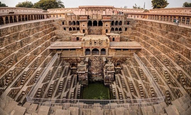 Khám phá Chand Baori - kỳ quan thiên nhiên của Ấn Độ - Ảnh 2.