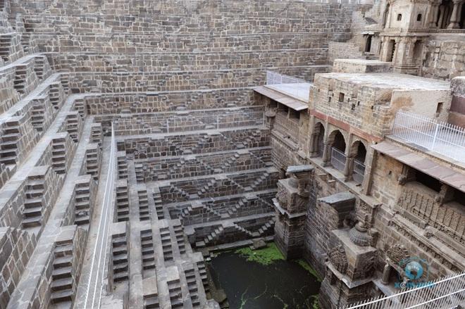 Khám phá Chand Baori - kỳ quan thiên nhiên của Ấn Độ - Ảnh 4.