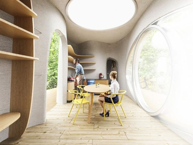 Căn nhà nổi này có thể được in 3D trong 48 giờ và được thiết kế để tồn tại 100 năm - Ảnh 11.