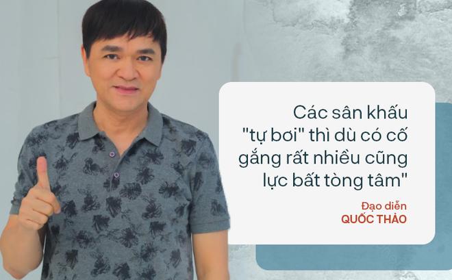 Đạo diễn Quốc Thảo: Mỗi lần nghe điện thoại của Hồng Vân, Thành Lộc ở Việt Nam sang là tôi sợ lắm