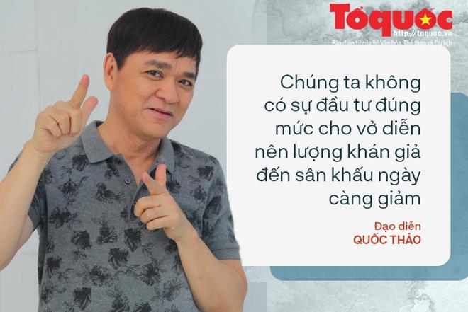 Đạo diễn Quốc Thảo: Mỗi lần nghe điện thoại của Hồng Vân, Thành Lộc ở Việt Nam sang là tôi sợ lắm - Ảnh 3.