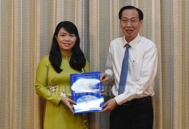 Trưởng Ban Tuyên giáo Quận 8 giữ chức Phó Chánh Văn phòng TPHCM - Ảnh 1.