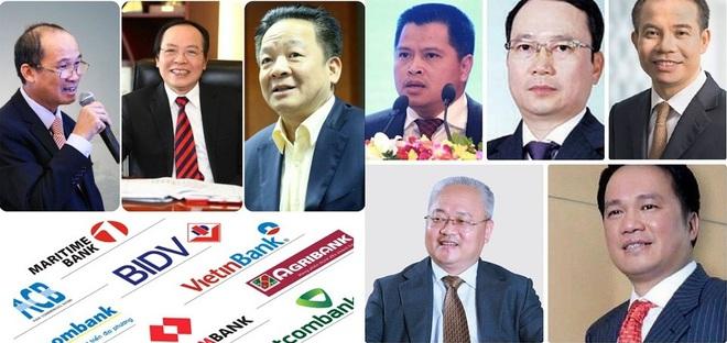 Các gia tộc quyền lực trong giới ngân hàng trúng lớn - Ảnh 1.