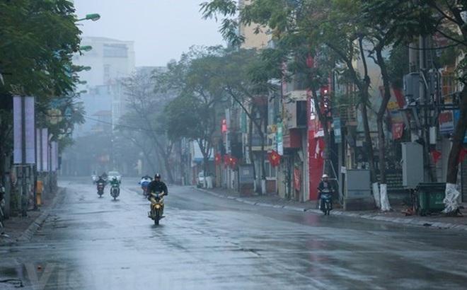 Nhiều khu vực có mưa, Bắc Bộ trời rét về đêm và sáng sớm
