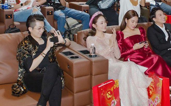 """Gil Lê và Hoàng Thùy Linh giữ khoảng cách khi cùng dự sự kiện nhưng vẫn để lộ """"dấu vết"""" chung"""