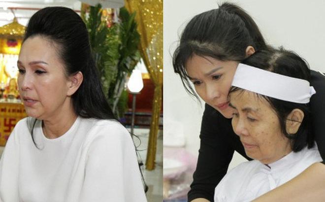 """Những giọt nước mắt rơi trong lễ tang nghệ sĩ Nguyễn Chánh Tín: """"Tuần trước anh còn rủ đi nhậu, vậy mà giờ không còn"""""""