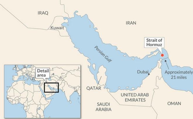 Cửa ngõ quan trọng của ngành năng lượng thế giới liệu có đóng cửa do căng thẳng Mỹ – Iran?