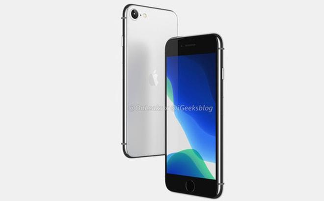 iPhone SE 2 (iPhone 9) lộ ảnh render: Thiết kế giống iPhone 8, mặt lưng kính nhám