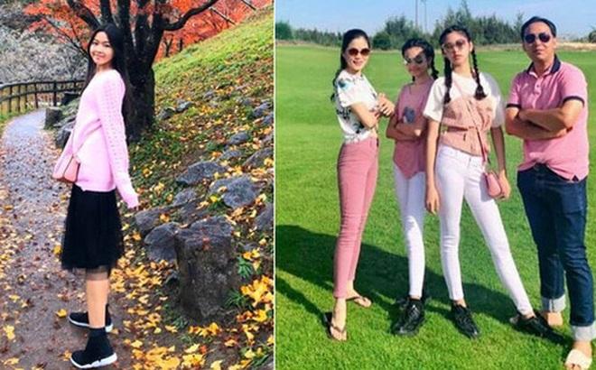 15 tuổi không dùng MXH, không khoe hàng hiệu đắt đỏ dù là rich kid, 2 con gái nhà MC Quyền Linh ngày càng bộc lộ khí chất hot girl