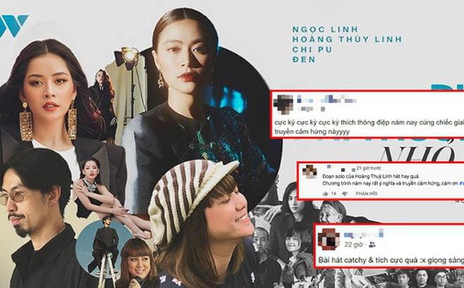 """Cư dân mạng """"bão lời khen"""" cho màn kết hợp Hoàng Thuỳ Linh - Chi Pu - Đen Vâu và Ngọc Linh: """"nổi da gà"""" vì MV lẫn giọng hát hoà quyện quá đỉnh!"""