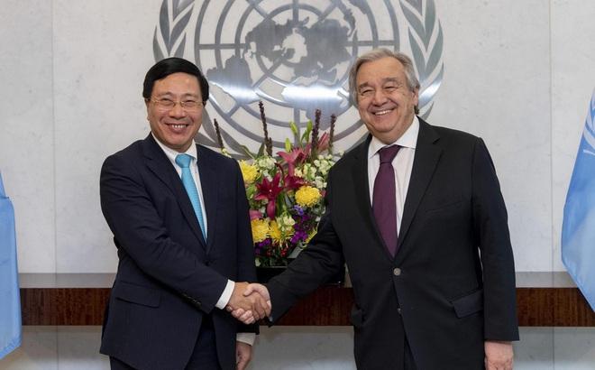 Đề nghị Liên Hợp quốc tiếp tục quan tâm tình hình Biển Đông