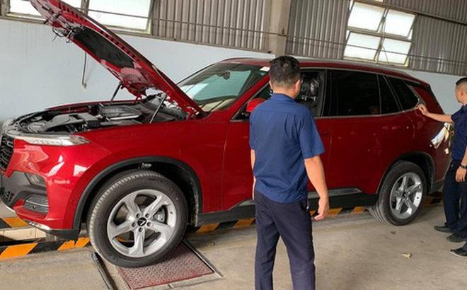VinFast Lux trả lái chậm, nhiều xe được gọi tới đại lý để kiểm tra
