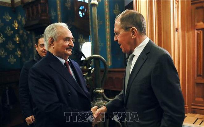 Tướng Khalifa Haftar rời Moskva mà không ký thỏa thuận ngừng bắn tại Libya
