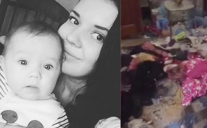 Bé gái 3 tuổi bị bỏ đói đến nỗi phải ăn bột giặt rồi qua đời trong lúc mẹ đi tiệc tùng 1 tuần, hiện trường vụ án gây phẫn nộ