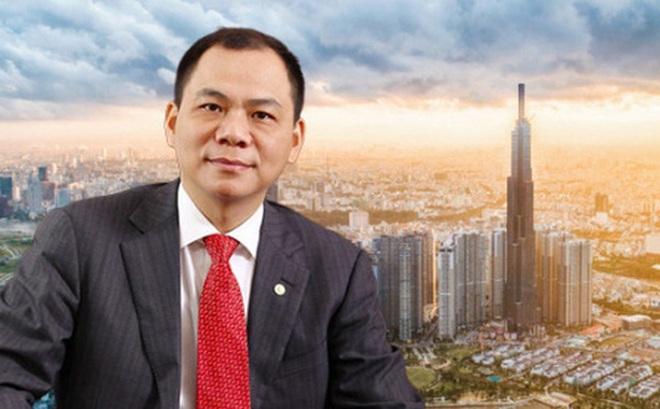 Tỷ phú Phạm Nhật Vượng vừa gián tiếp có thêm hơn 50 triệu cổ phiếu Vingroup, giá trị tài sản trên sàn chứng khoán lên 220.000 tỷ đồng