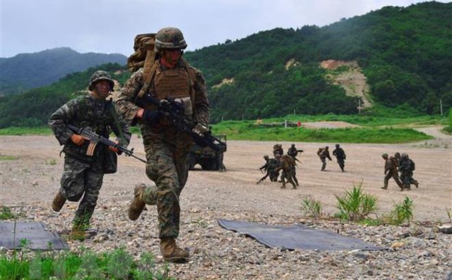 Hàn-Mỹ điều chỉnh tập trận chung vì chính sách về Triều Tiên