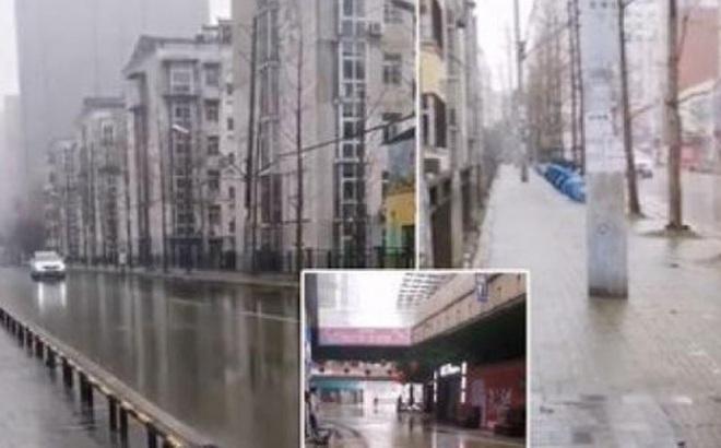 Ớn lạnh thành phố ma Vũ Hán trong tâm dịch virus corona
