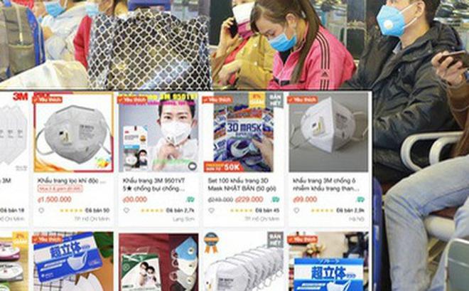 Lợi dụng đại dịch corona, khẩu trang online tăng giá đột biến với lý do: 'Nếu không mua thì sau này không có mà mua đâu'