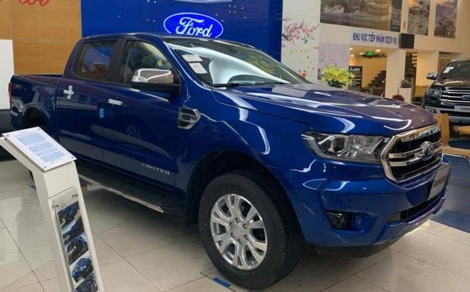Chưa Ra Mắt Ford Ranger Xlt Limited 2020 đa được Ban Gia 799 Triệu đồng