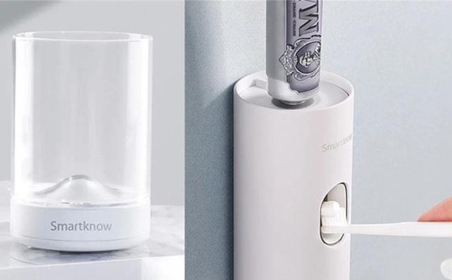 Xiaomi ra mắt dụng cụ lấy kem đánh răng tự động, khử trùng bàn chải bằng tia UV, giá chỉ 299.000 đồng