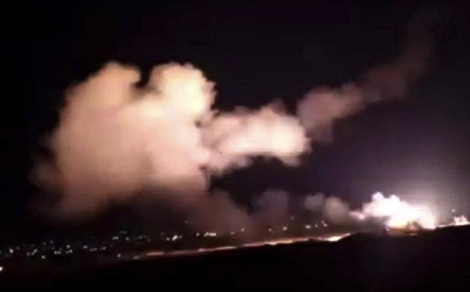 Dàn vũ khí phòng không của Syria bẻ gãy cuộc tấn công của kẻ thù
